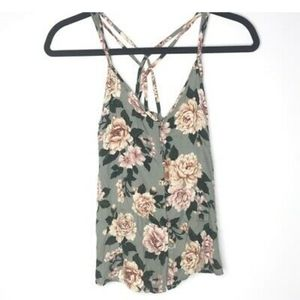 2/$20 AEO Floral Tank